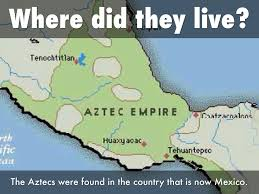 Aztec Empire Map Storyboard By Marisol Pablo