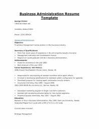 Sample Of Insurance Agent Resume Template Sample Business Resume Template Resume For Your Job Application