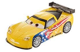 jeff corvette disney pixar cars 2 pull back racer jeff gorvette amazon co