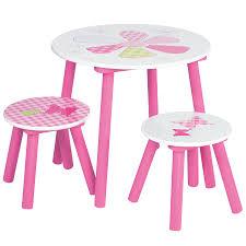table chaise fille cuisine table pour enfant papillon table et chaise pour fille dã
