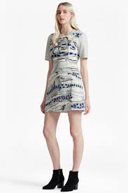 derain stitch back cut out dress collections french connection