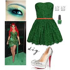 Green Ivy Halloween Costume Poison Ivy Halloween Costume Polyvore