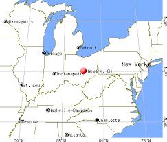 newark map newark ohio oh 43055 profile population maps estate
