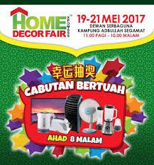 Home Decor Fair by Oxson Home Decor Fair Dewan Serbaguna Kampung Facebook