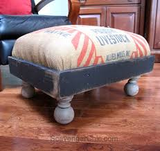 Funky Ottoman Diy Salvaged Junk Projects 350funky Junk Interiors