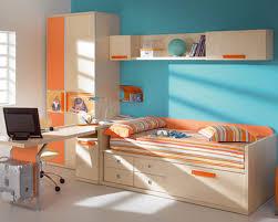kids modern bedroom furniture yellow wardrobe combine wooden study