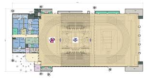 University Floor Plans Shenandoah University Athletic Center Athletic And Events