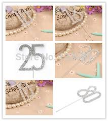 online get cheap monogram wedding cake toppers diamante