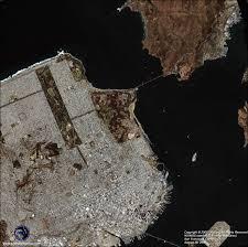 Satellite View Maps Ikonos Satellite Image San Francisco Satellite Imaging Corp