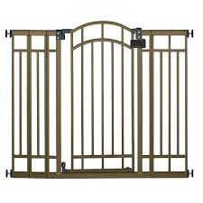 Home Gate Design Catalog Summer Infant 36 In H Extra Tall Walk Thru Multipurpose Bronze
