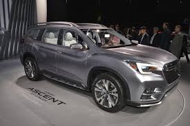 used lexus suv singapore subaru ascent suv concept makes debut at the 2017 new york auto