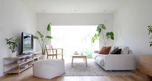 minimalist living room minimalist white living room design