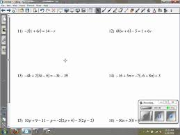solving multi step equations kuta software infinite algebra 2
