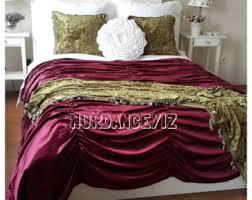 soft pale pink velvet duvet cover queen super king shabby