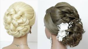 2 wedding hairstyles for long tutorial bridal updos youtube