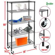 5 Tier Wire Shelving by 60