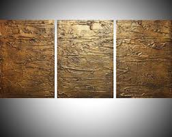 3 panel wood wall large wall etsy
