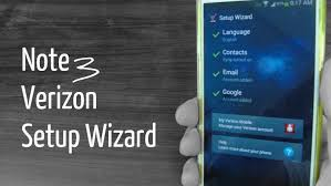 galaxy note 3 setup wizard verizon youtube