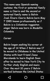 Seeking Best Friend Song J Balvin Top Song Lyrics Apk Free Entertainment App