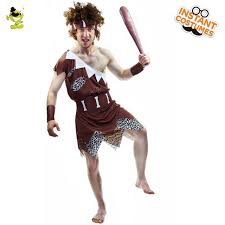 Fred Flintstone Halloween Costume Aliexpress Buy Jungle Caveman Cosplay Carnival Costumes