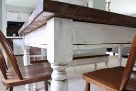 Diy Farmhouse Table And Bench 150 Diy Farm Table Bench Tutorial Hometalk