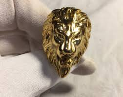 antique lion ring holder images Lions head ring etsy jpg