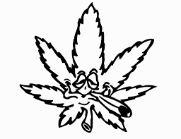 pot leaf coloring pages coloring pages pinterest leaves and