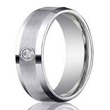 palladium wedding bands men s 4mm palladium wedding ring with diamond satin finish