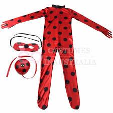 miraculous ladybug marinette dupain cheng kids girls cosplay full