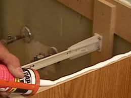 How Much To Install A Bathroom How To Replace A Bathroom Vanity How Tos Diy