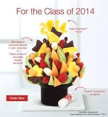 graduation fruit arrangements give fresher graduation themed fruit bouquets from edible