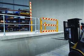 mezzanine forklift gate team systems