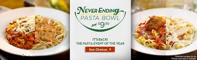 Olive Garden Never Ending Pasta Bowl Is Back - mama nibbles olive garden s 9 99 unlimited pasta bowl is back