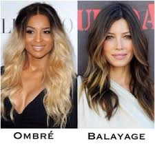highlights vs ombre style difference between balayage and ombre google search style me