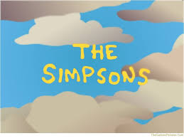 simpsons clouds picture simpsons clouds wallpaper