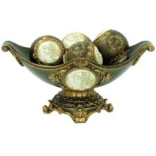 ore international 8 in h handcrafted bronze decorative bowl with