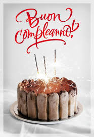 buon compleanno italian language birthday card greeting cards