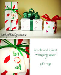 Handmade Gift Wrapping Paper - craft challenge handmade kid friendly gift wrap u2013 oh my handmade