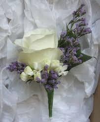 Groom S Boutonniere Groom U0027s Boutonniere Of Rose Lilac Freesia And Eucalyptus Fiori