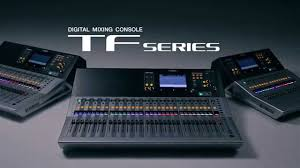 Studio Mixer Desk by Yamaha Tf Series Digital Mixing Consoles U2013 Feature Tour Video
