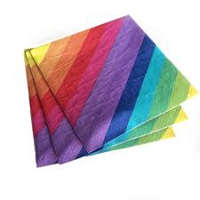 rainbow party napkins rainbow napkin rainbow paper napkins
