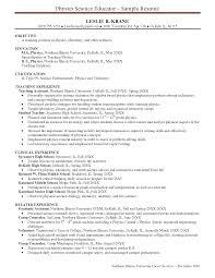 brilliant ideas of resume example chemistry teacher resume ixiplay