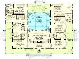 courtyard style house plans corglife
