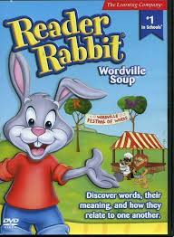 rabbit dvds 109 7626 reader rabbit wordville soup educational