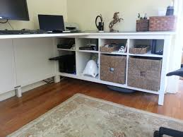 Ikea Desk Hemnes Home Office Ikea Hack Open Parenthesis