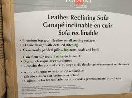 Recliner Sofa Costco Pulaski Furniture Leather Reclining Sofa Model 155 2475 401 726