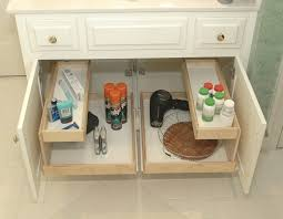 pull out baskets for bathroom cabinets storage under sink pull out basket sink ideas