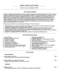 Insurance Resume Examples by Insurance Broker Resume Template Premium Resume Samples U0026 Example