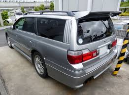 nissan stagea file nissan stagea 260rs wc34 rear jpg wikimedia commons