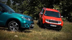 mitsubishi jeep 2016 suzuki vitara vs jeep renegade youtube
